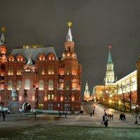Москва. Вечер. Исторический музей. Кремль :: Минихан Сафин