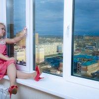 Город  в окне :: Виктор Твердун