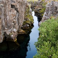 Исландия. Национальный парк Тингветлир. Подземная река :: Олег Неугодников