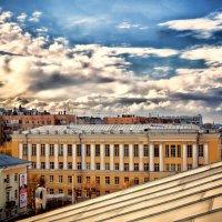 на крыше ... :: Роман Шершнев