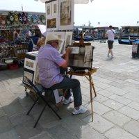 Венецианский уличный художник :: Андрей Мыслинский