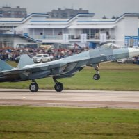 Посадка Т-50 :: Павел Myth Буканов