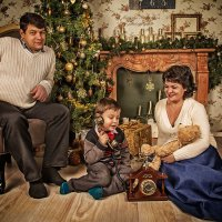 Звонок Дедушке Морозу :: Наташа Родионова