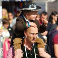 Папа с сыном :: Sergey Kuznetsov