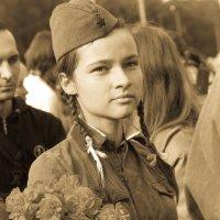 Девчонки тоже воевали. :: Катя Катерина