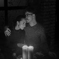 Тепло свечи... :: Екатерина Рябинина