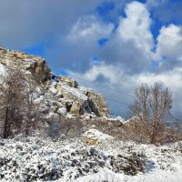 зимний пейзаж :: valeriy g_g