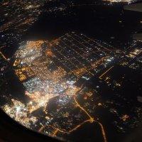 Ночной Каир с борта самолета :: ViP_ Photographer