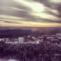снежная долина :: Юлия Годовникова