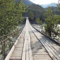 мост через р. Катунь :: Александр Кузнецов