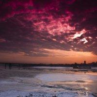 Небо Новосибирска :: Дмитрий Ганин