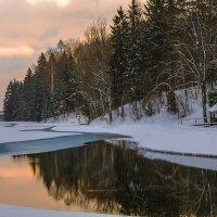 Зимний закат :: Николай Климович