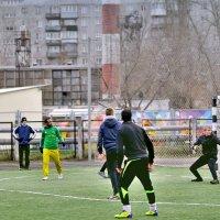 Неожиданный удар с дальней дистанции и ... - плюха! :: Сергей Банков