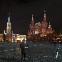 Автор на Красной площади :: Николай