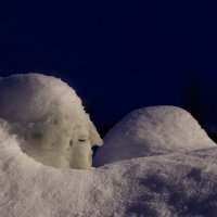 зима как скульптор :: Наталья Ерёменко
