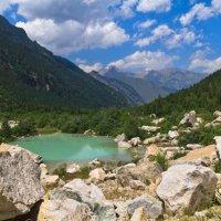 горное озеро :: Николай Овечко