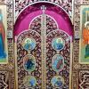 Царские врата иконостаса церкви  Луки, архиепископа Крымского, в Марьинском парке в Москве. :: Александр Качалин