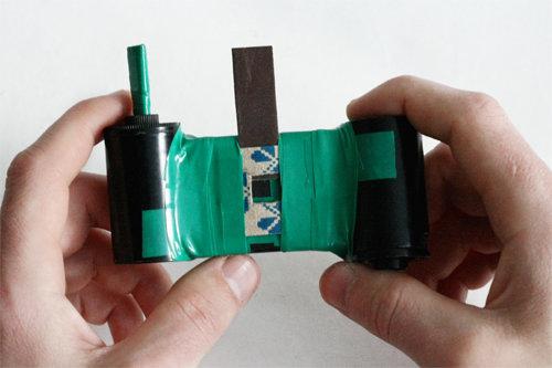 Как из спичечного коробка сделать фотоаппарат