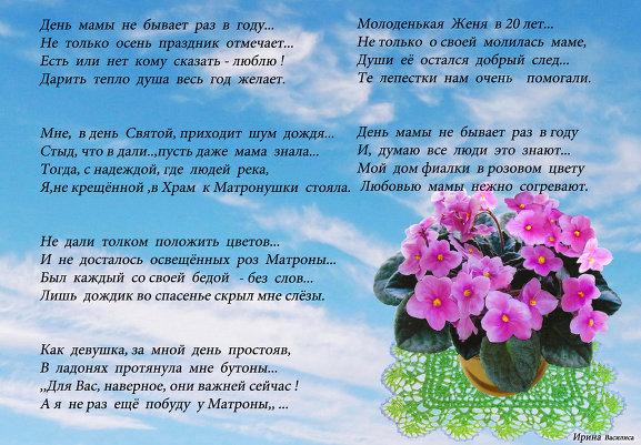 Коллектив яслей-сада 6 поздравляет женщин с днём матери!