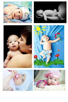 Очаровательные фото младенцев
