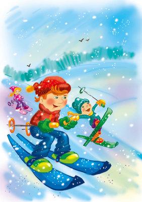 04.01.2018 Приглашаем жителей на соревнования по лыжным гонкам