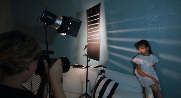 Как добавить творческое освещение на скучные фоны самыми простыми средствами