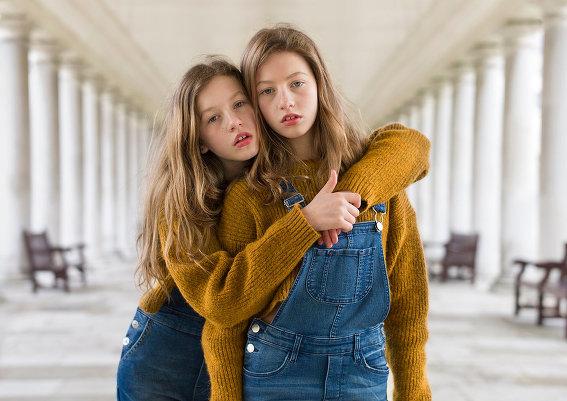 Близнецы в фотопроекте Питера Зелевски
