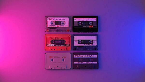 Ретро-предметы 80-90-х