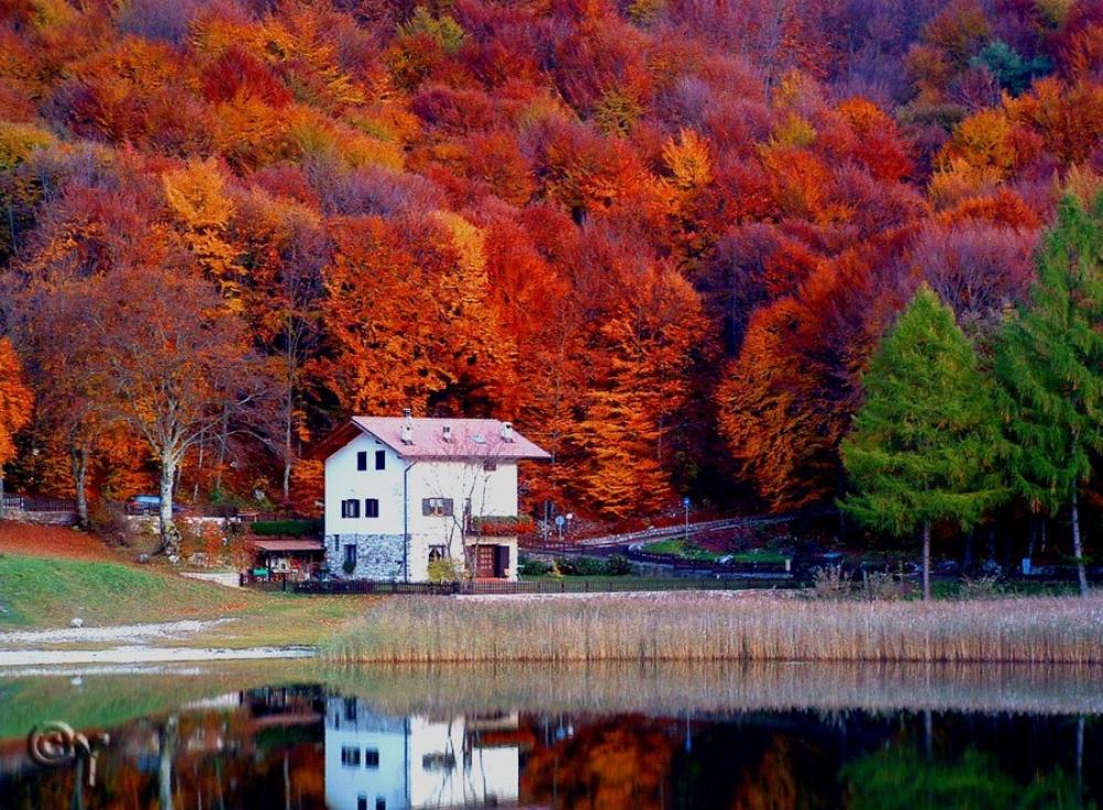 Места где осенние пейзажи особенно