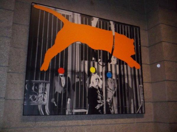 "John Baldessari, ""Tiger and Trainer With 3 Figures"""