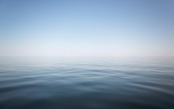 линия горизонта фото
