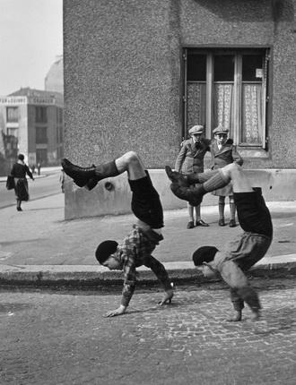 Робер Дуано. Братья. Париж, 1936. © Atelier Robert Doisneau