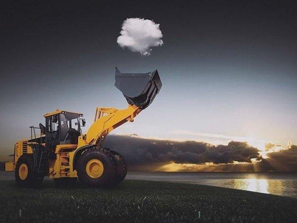 ..Поймать облако!