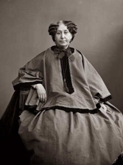 Надар (настоящее имя Гаспар-Феликс Турнашон). Жорж Санд, ок. 1865