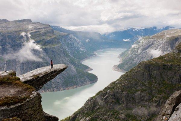 Захватывающие места - Язык тролля, Норвегия