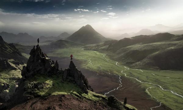 самые захватывающие места в мире - Фьятлабакслейд, Исландия