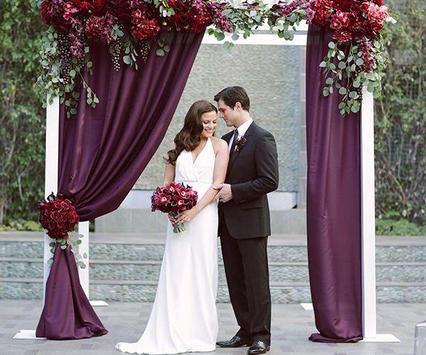 Свадьба в цвете МАРСАЛА - №6