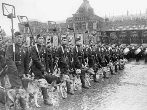 Парад Победы 1945 года.