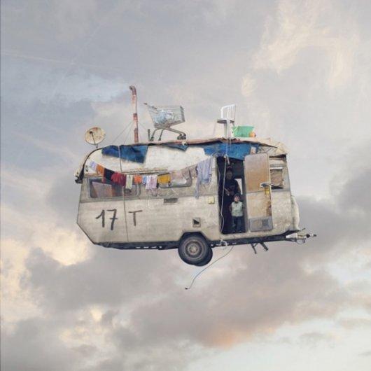 Laurent Chehere Flying Houses CARAVAN 2012