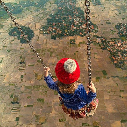 Фотомонтаж про страхи