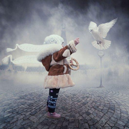 Фотомонтаж про детей и радость