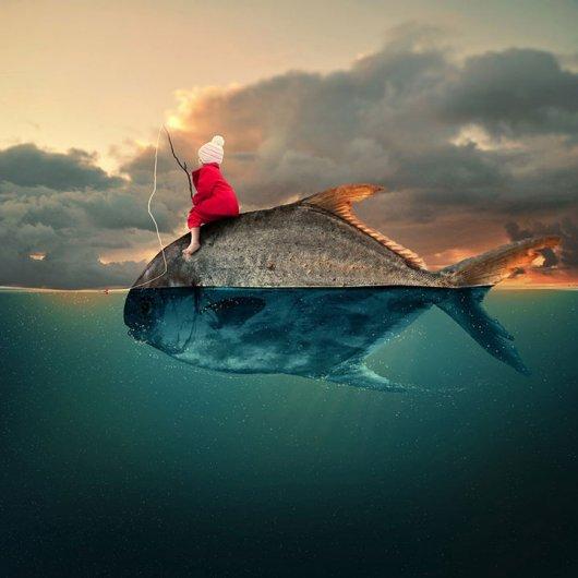 Фотомонтаж морской
