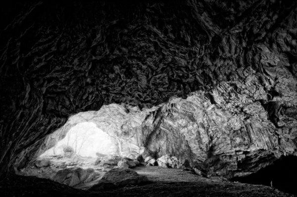 черно-белые пейзажи природы 6