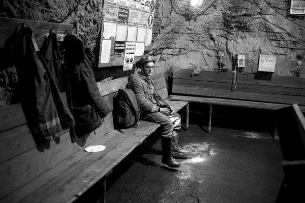 Григорий Ярошенко. Комната отдыха. Рудник «Октябрьский». Глубина горизонт 700 м. Норильск. 2015
