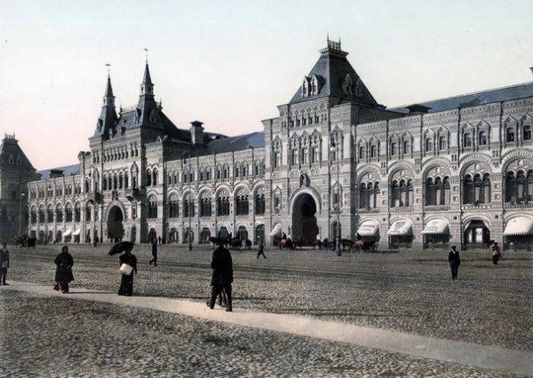 Неизвестный автор. Москва. Новые ряды. 1900 – 1910-е. Фотохром