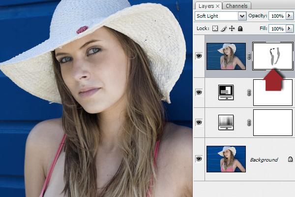 как наложить фильтр в Фотошопе