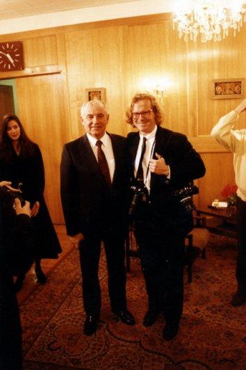 Михаил Горбачев (Mikhail Gorbachev) и Питер Тернли (Peter Turnley)