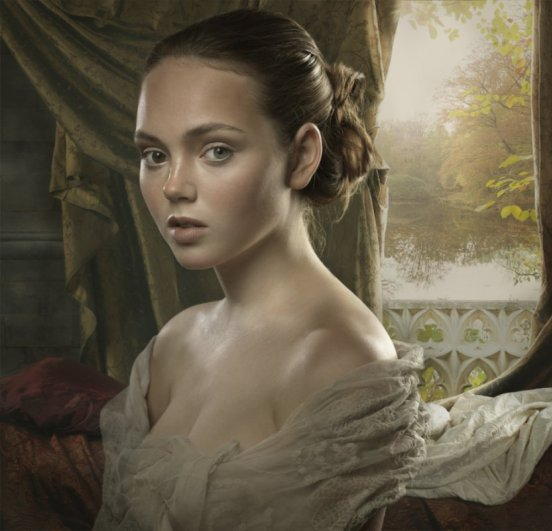 современный женский портрет