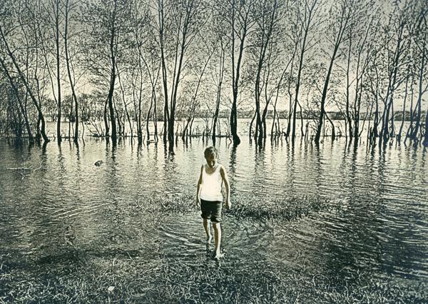 В. Филонов Половодье. 1970-е.
