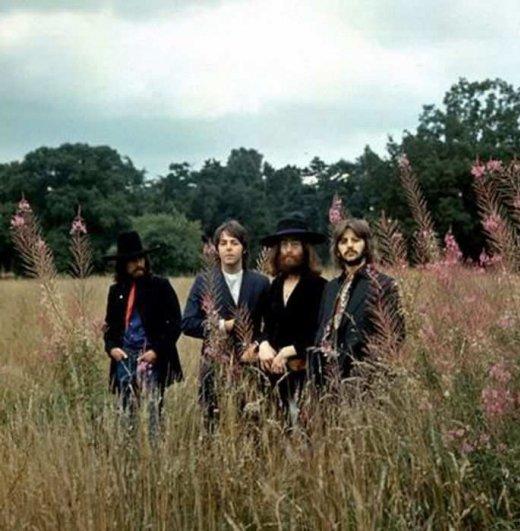 Последняя фотосессия «The Beatles».